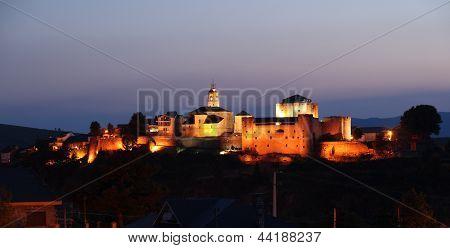 Night Puebla de Sanabria, Zamora.