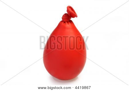 Red Kneating Balloon