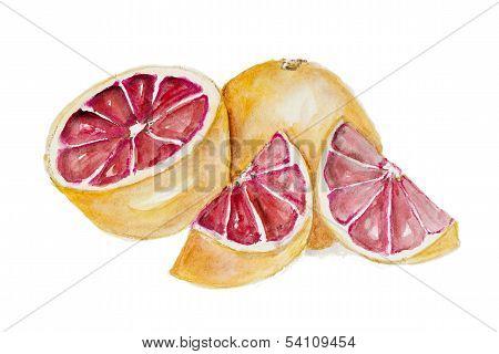 Sweet Red Grapefruit