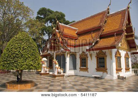 Wat Doi Sutep Chiang Mai North Thailand