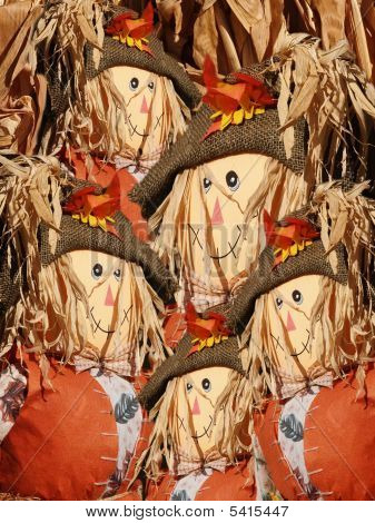 Faces Of Scarecrows