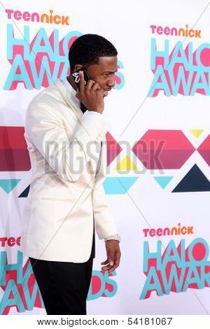 LOS ANGELES - NOV 17:  Nick Cannon at the TeenNick Halo Awards at Hollywood Palladium on November 17, 2013 in Los Angeles, CA