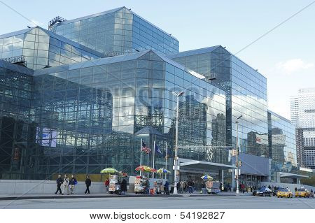 Jacob Javits Convention Center in Manhattan