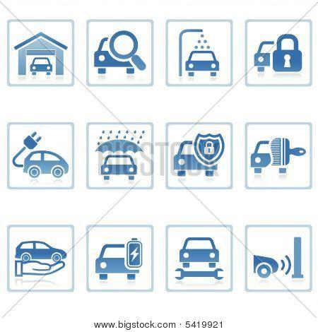 Web Icons : Auto Service Icon I