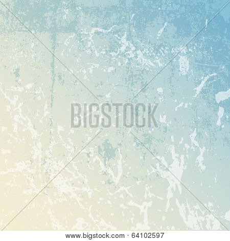 Detailed grunge background using pastel colours
