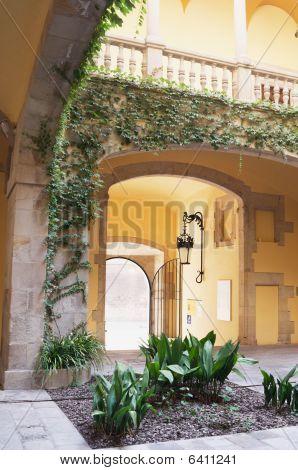 Spanish Villa Atrium