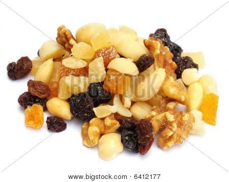 Mixed Dried Fruit And Nuts