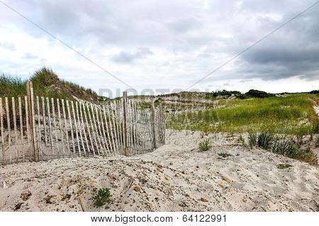 Cape Cod Beach Fence