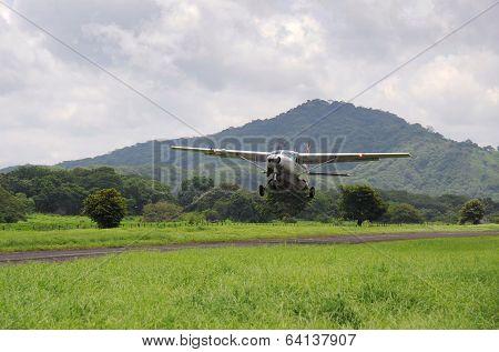 Plane Coming To Land