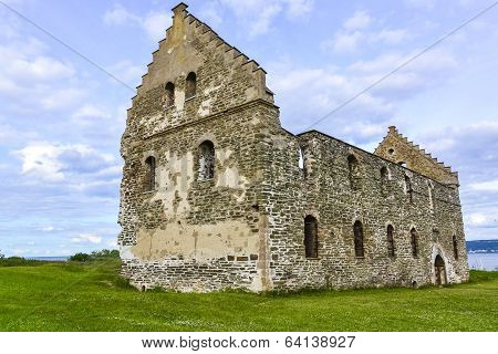 Visingsborg castle ruin in Visingso, an island in Sweden.