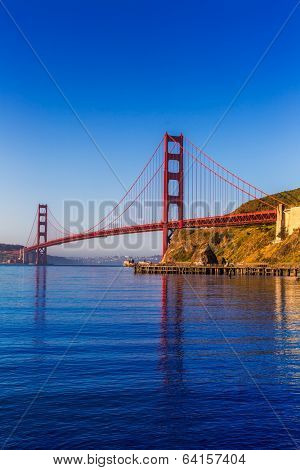 San Francisco Golden Gate Bridge California USA
