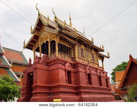 Ubosot Wat Phra That Haripunchai