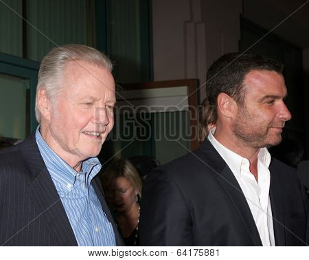 LOS ANGELES - APR 28:  Jon Voight, Liev Schreiber at the