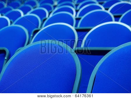 Rows Of Overstuffed Chairs