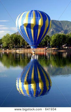 Hot Air Ballooning Reflections