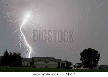 Lightning Strikes Landscapes