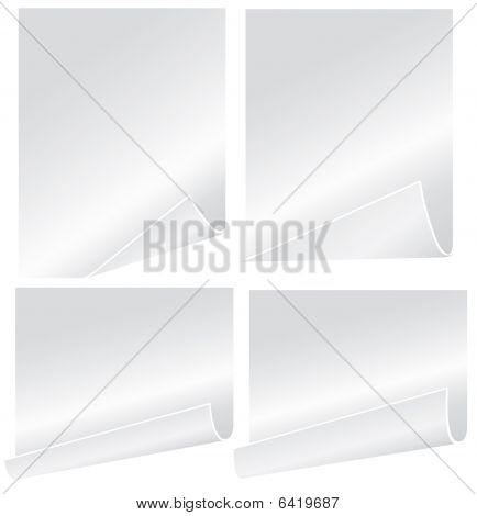 Blank vector paper