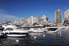 Boats And Yachts In The Bay