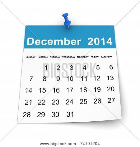 Calendar 2014 - December