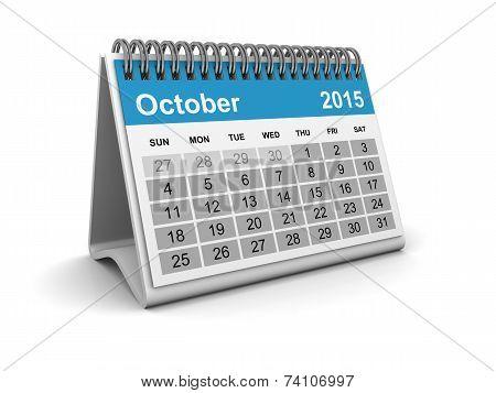 Calendar 2015 - October