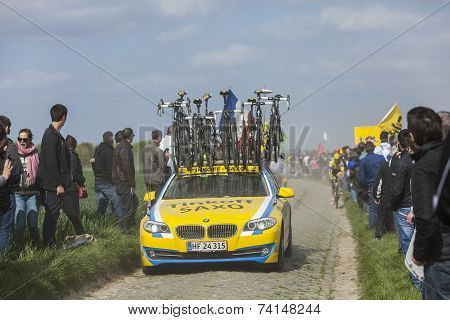 The Car Of Tinkoff Saxo Team