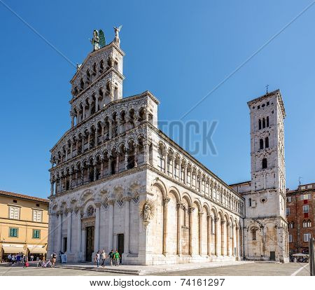 Church San Michele In Foro In Lucca