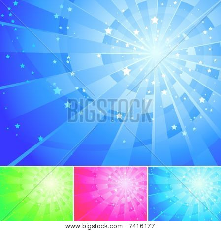 Abstract Background With Stars.eps