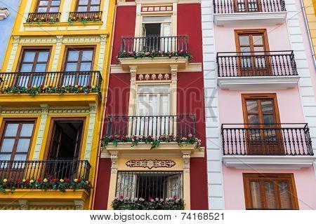 Valencia Spain architecture - travel background