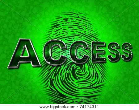 Access Security Means Unauthorized Entry And Permission