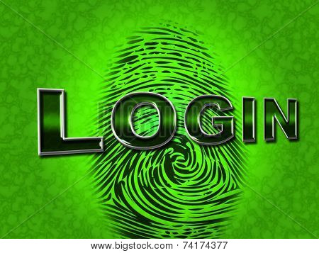 Login Security Shows Logon Restricted And Username