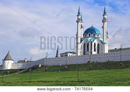 Kul-sharif Mosque In Kazan Kremlin In Kazan