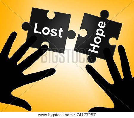 Lost Hope Shows Stop Trying And Wanting