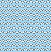 Tile vector pattern with white and brown zig zag print on pastel blue background for decoration wallpaper poster