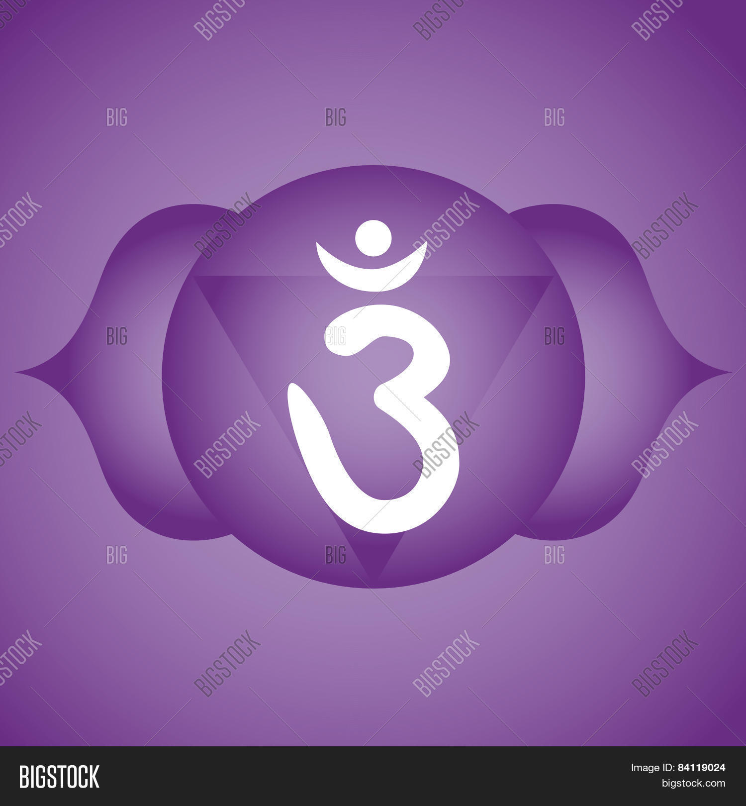 Third Eye Chakra Vector Photo Free Trial Bigstock
