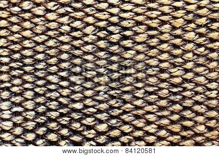 Natural Wicker Texture Background