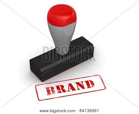 Rubber Stamp - Brand