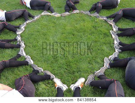 Fastpitch Softball Heart
