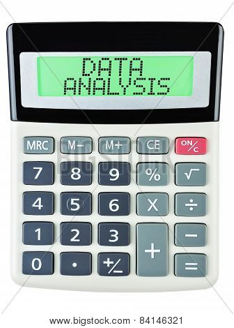 Calculator With Data Analysis