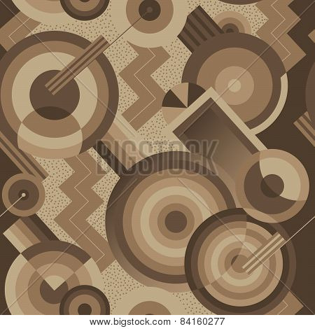 Geometric background in the style of Art Deco
