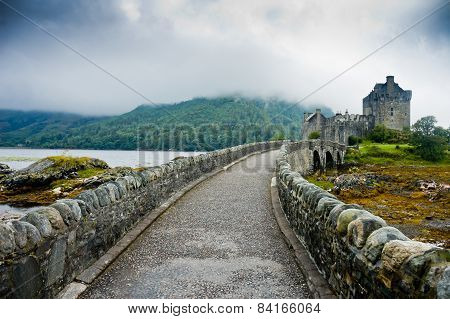 View Of Eileen Donan Castle, Scotland