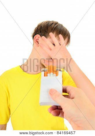 Kid Refuses Cigarettes