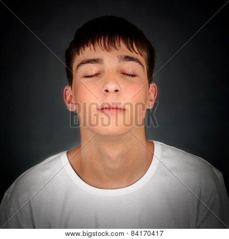 Young Man Meditate