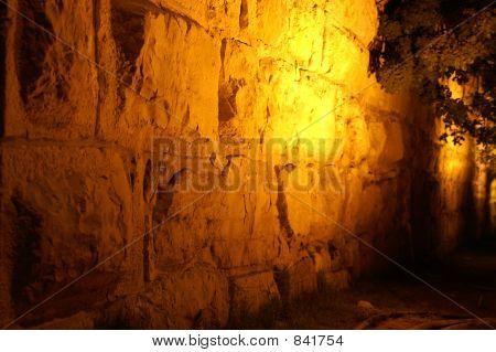 old wall in jerusalem - jaffa gate