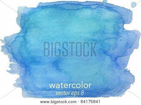Abstract watercolor hand paint texture