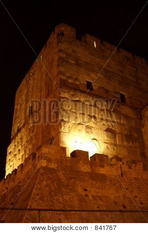 king david tower in jerusalem old city