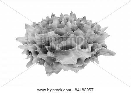 Psoriasis - 3D Rendered Illustration