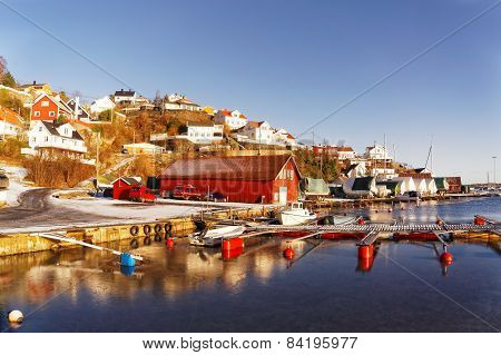 Norwegian Dock For Boats