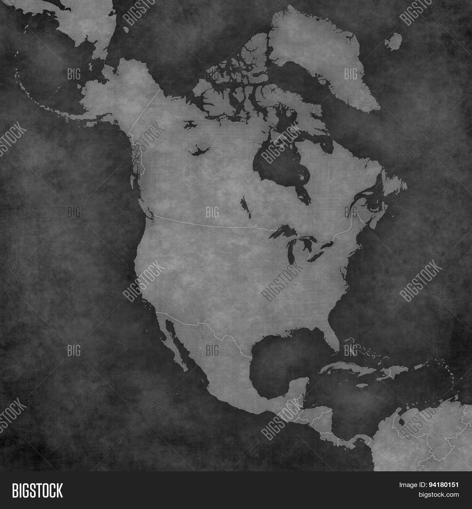 blank map north image photo free trial bigstock