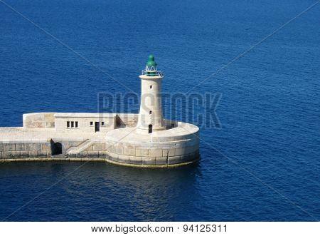 Lighthouse in Malta