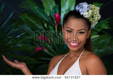 Cheerful Filipina